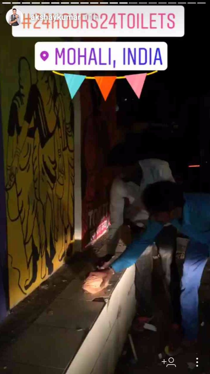 #AkshayKumar #ToiletEkPremKatha #24Hours24Toilets #Mohali