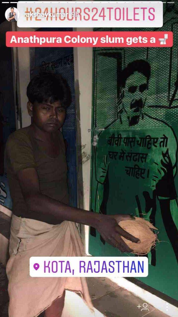 #AkshayKumar #ToiletEkPremKatha #24Hours24Toilets #Kota #Rajasthan