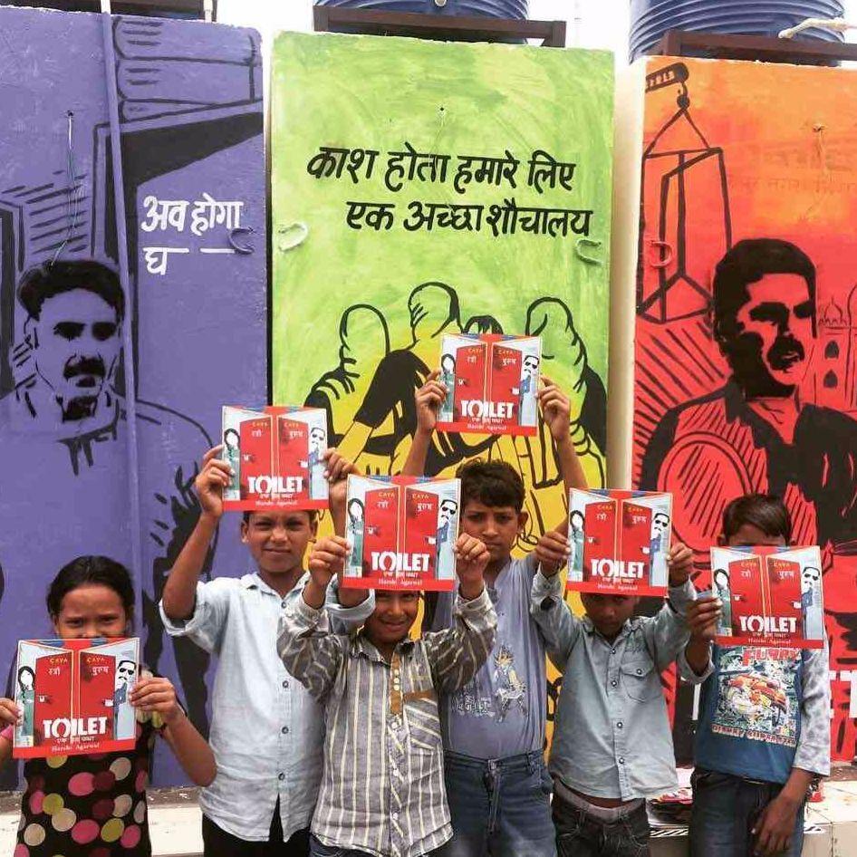 #AkshayKumar #ToiletEkPremKatha #24Hours24Toilets #Jaipur #Rajasthan #CayaConstructs