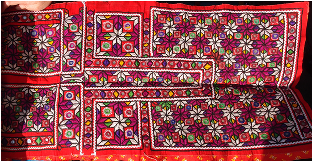 Meghwal embroidery