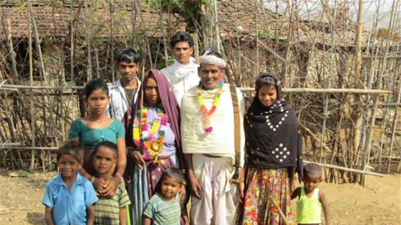 family Garasia tribe