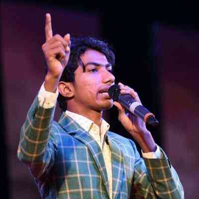 Stand up comedian Shyam Rangeela