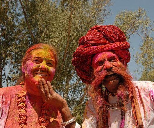 Holi in Rajasthan