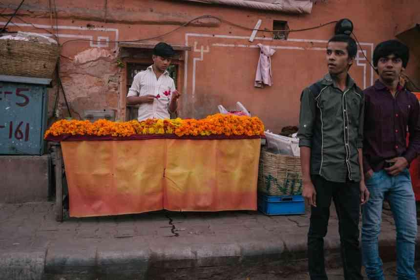 Local Flower Vendor