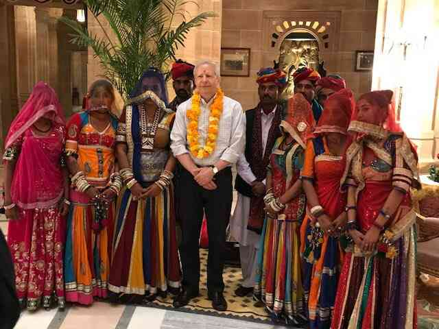 Kenneth Juster Rajasthan tour