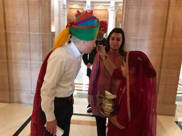 Ken Juster US Ambassador Rajasthan tour