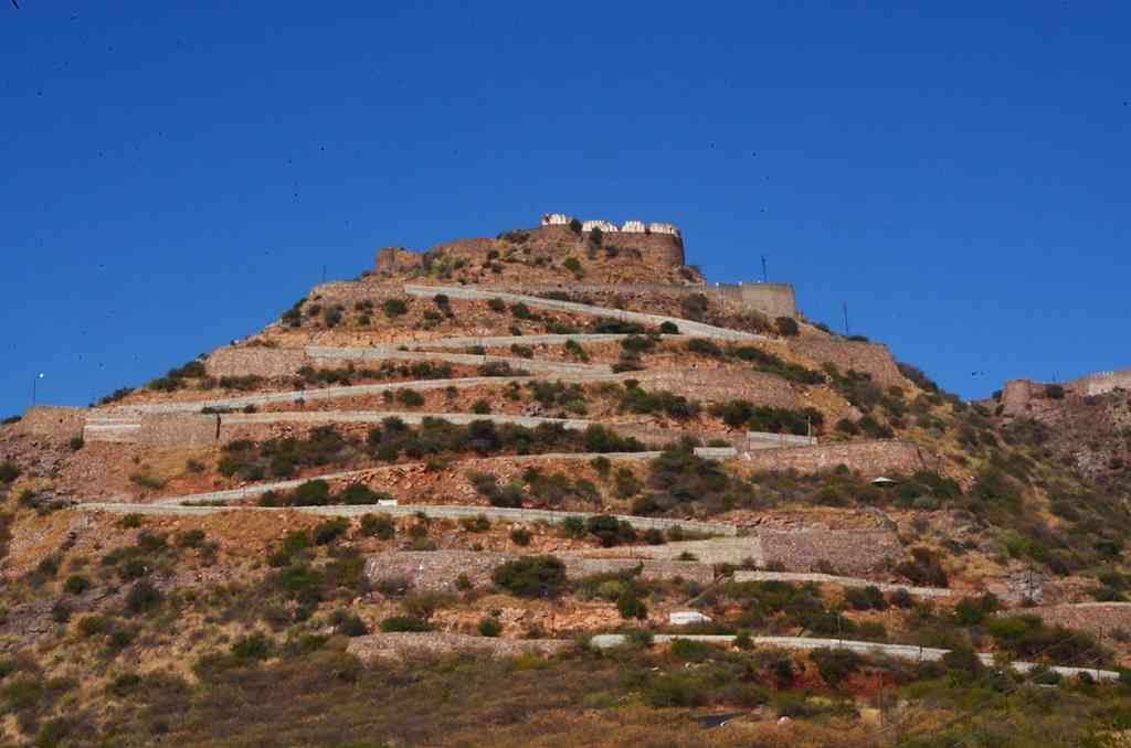 Way to Taragarh Fort
