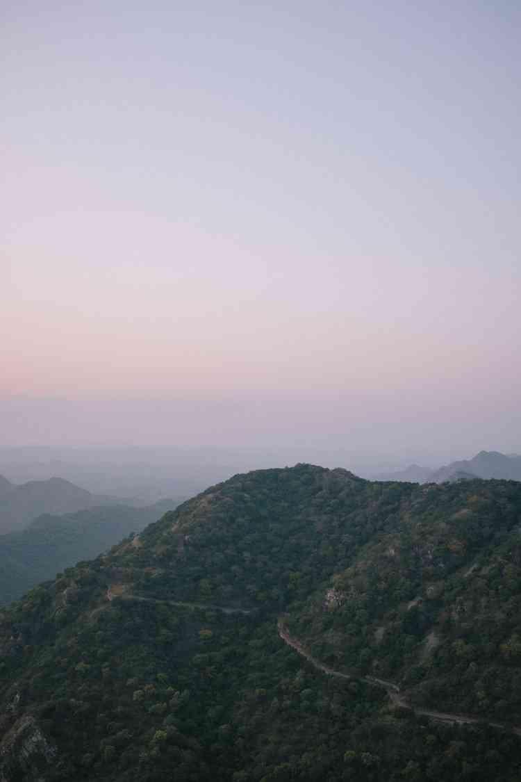 Aravalli Mountain Range