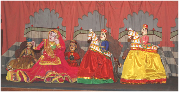 Kathputli performance
