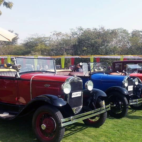 Vintage Classic Car Rally Jaipur