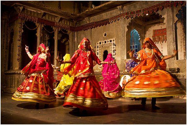 folk dance Ghoomar