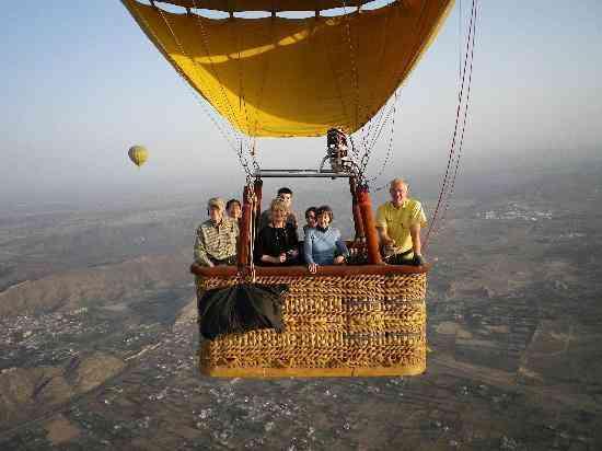 Hot Air Balloon Safari in Rajasthan