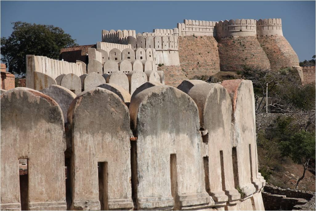 kumbhalgarh fort great wall