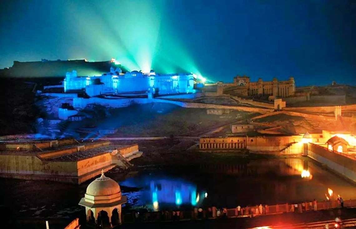 Light and Sound Show Amer Fort