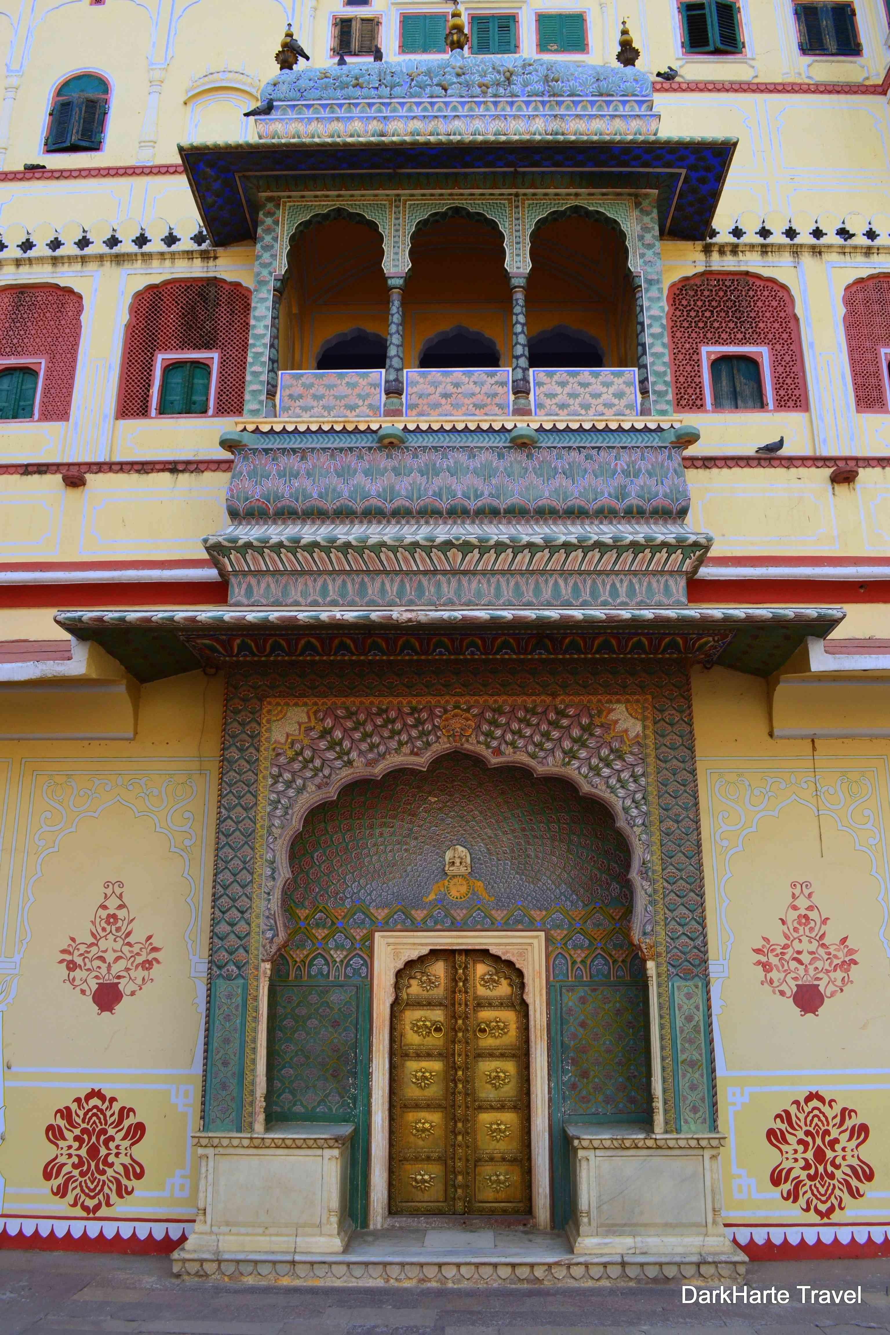 The Rose Gate represents winter and is dedicated to the Goddess Devi.