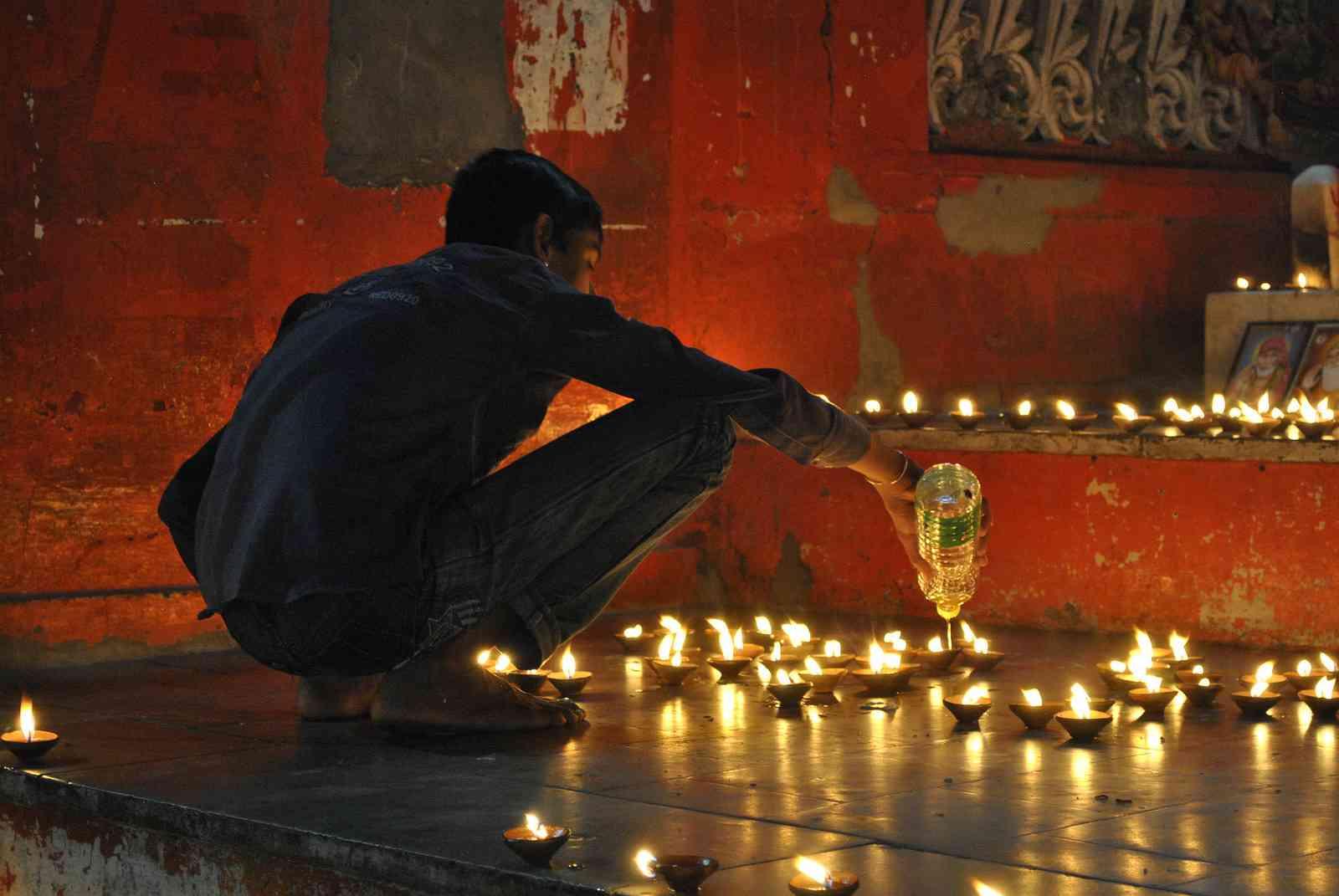 diwali in Pushkar