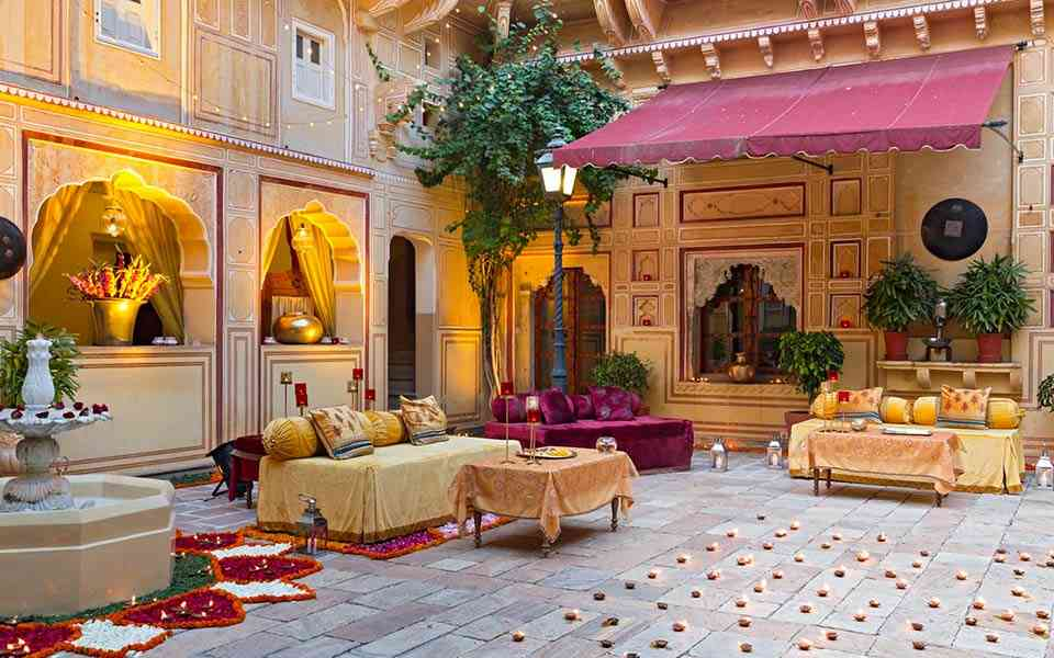 Samode Palace- Ideal Locations for Wedding Destination in Jaipur