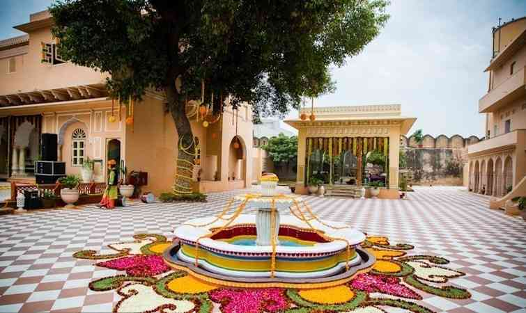 Chomu Palace- Ideal Locations for Wedding Destination in Jaipur