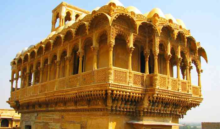 Places to visit in Jaisalmer-Salim Singh ki Haveli