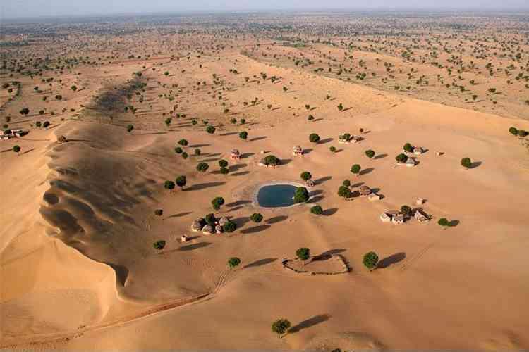 Khimsar Fort and Dunes