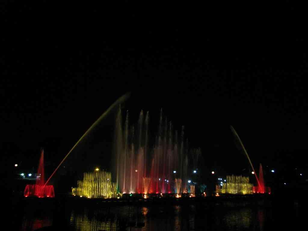 Musical Fountain, Jawahar Circle