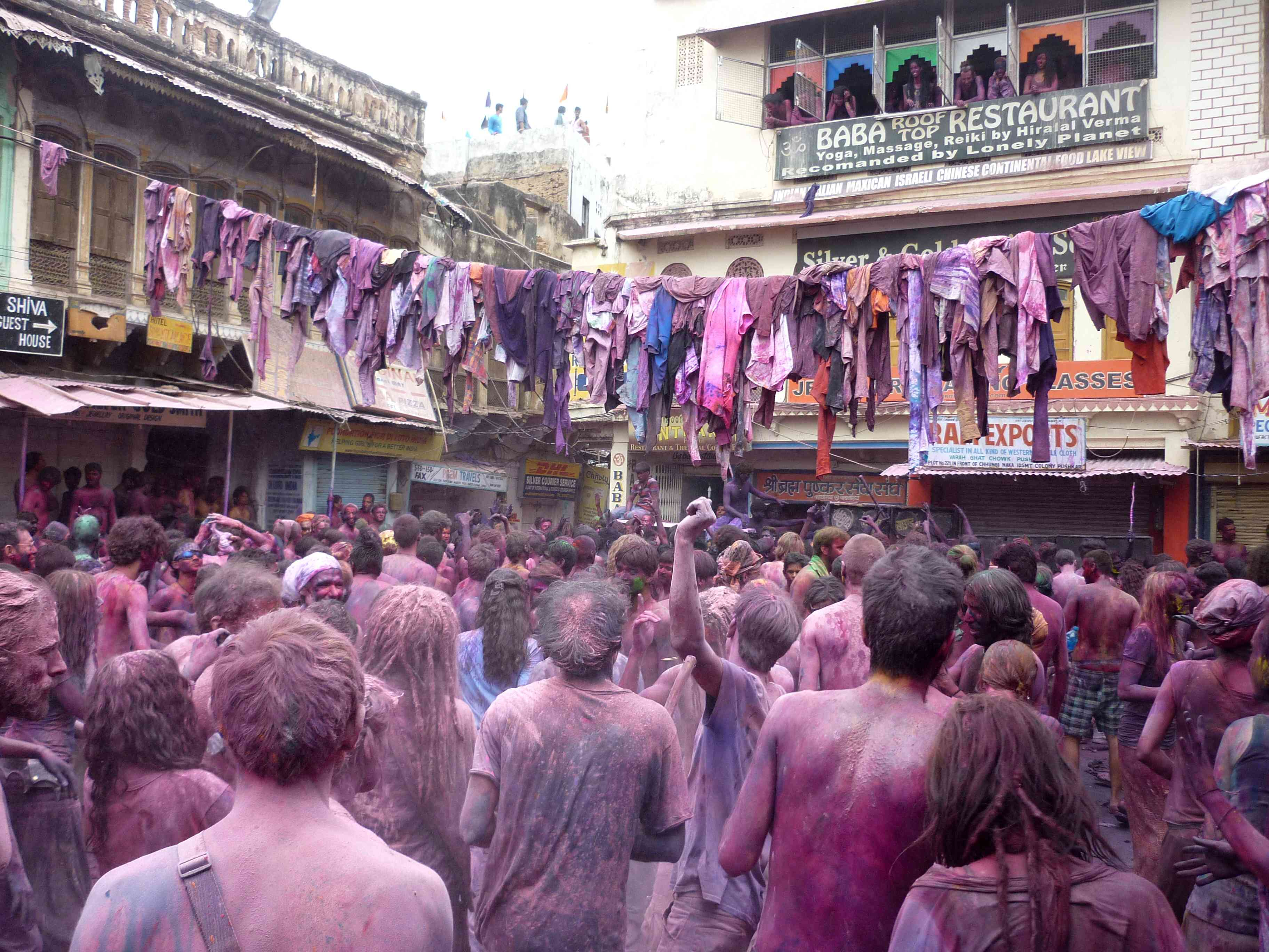Holi Celebration in Pushkar