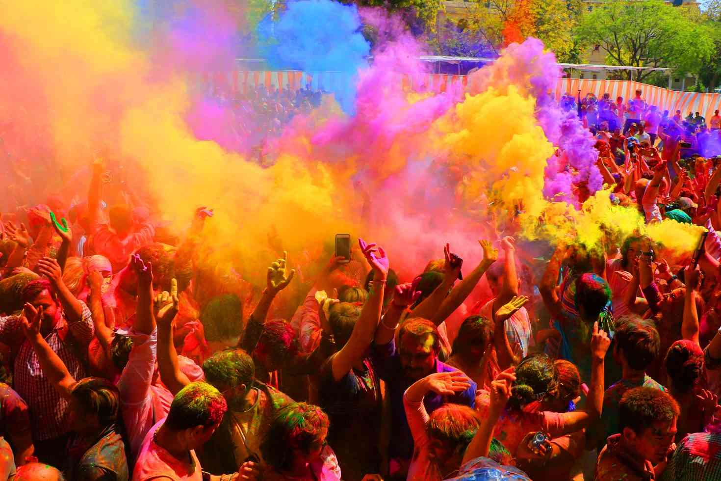 Holi Photo: Places To Celebrate Holi In Rajasthan This Year