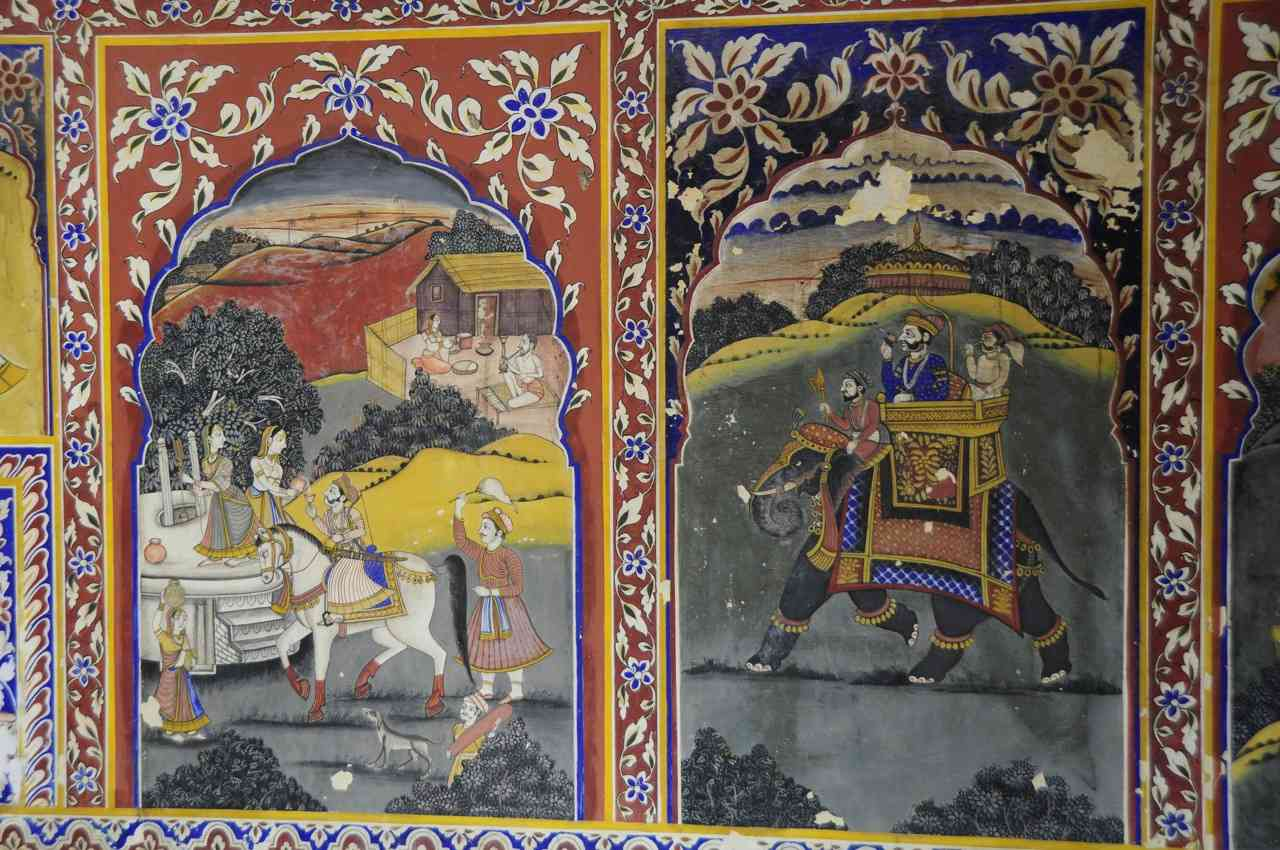 Wall Painting Rajasthani Traditional Art
