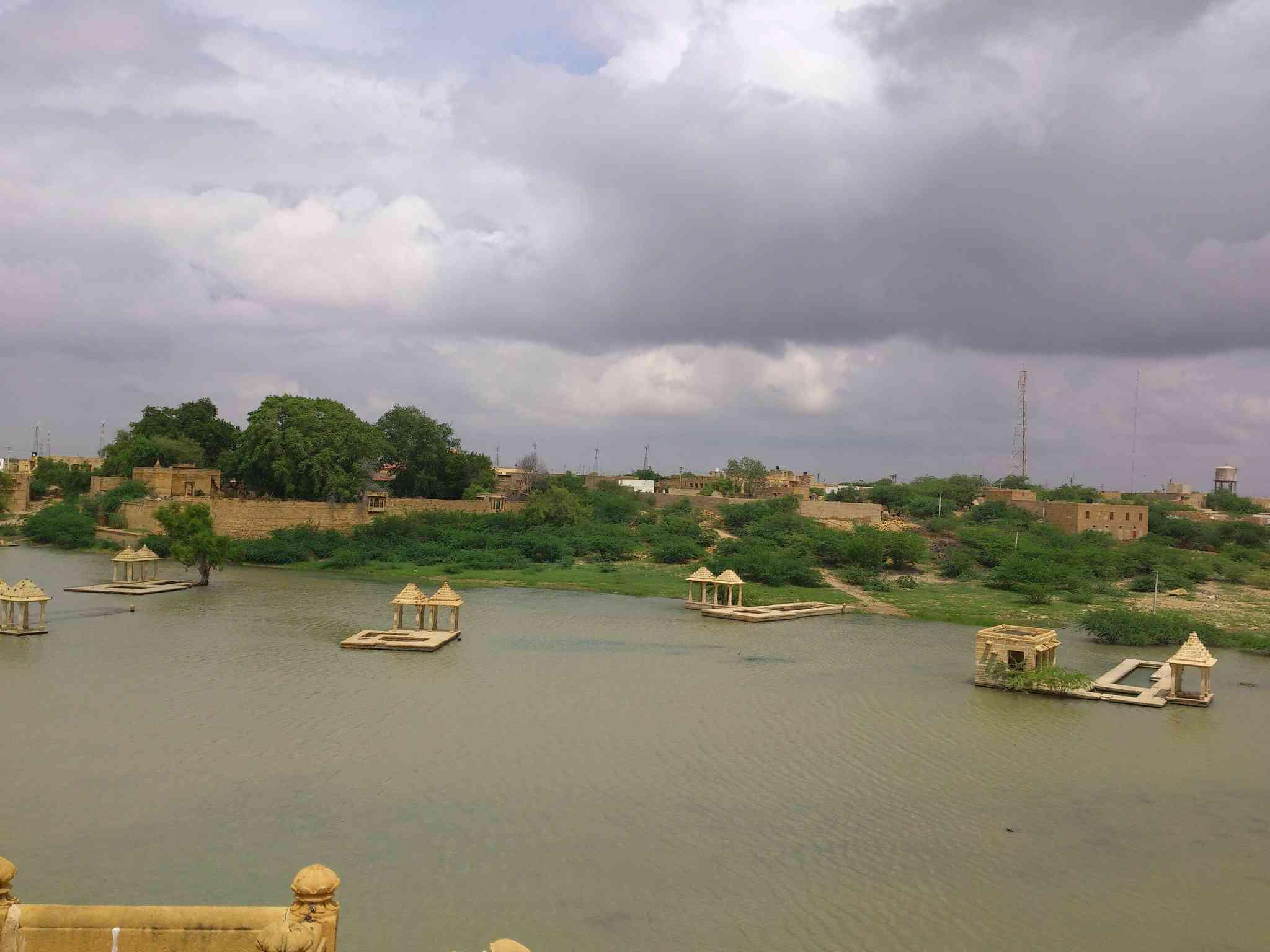 Amar Sagar Lake Jaisalmer