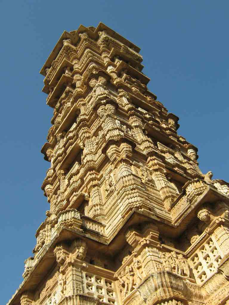Vijay Stambh Chittorgarh The Tower Of Victory