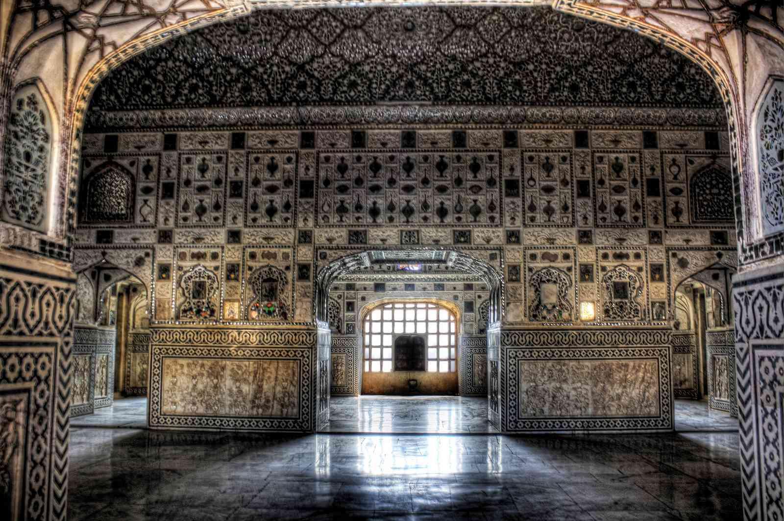 Amer Fort Sheesh Mahal