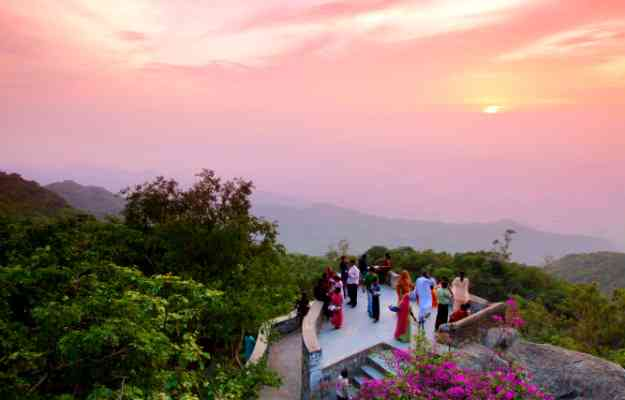 Sunset Point in Mount Abu