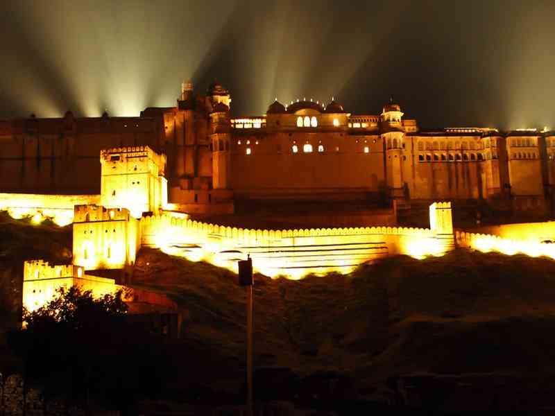 Amber Fort Light and Sound Show