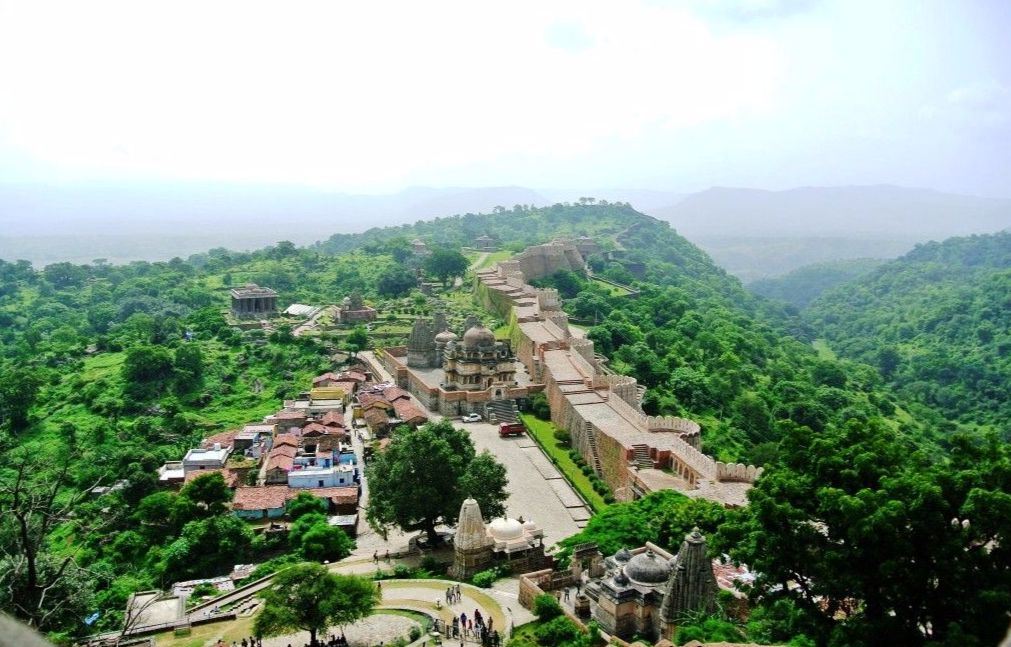 Kumbalgarh Great Wall of India Rajsamand Udaipur