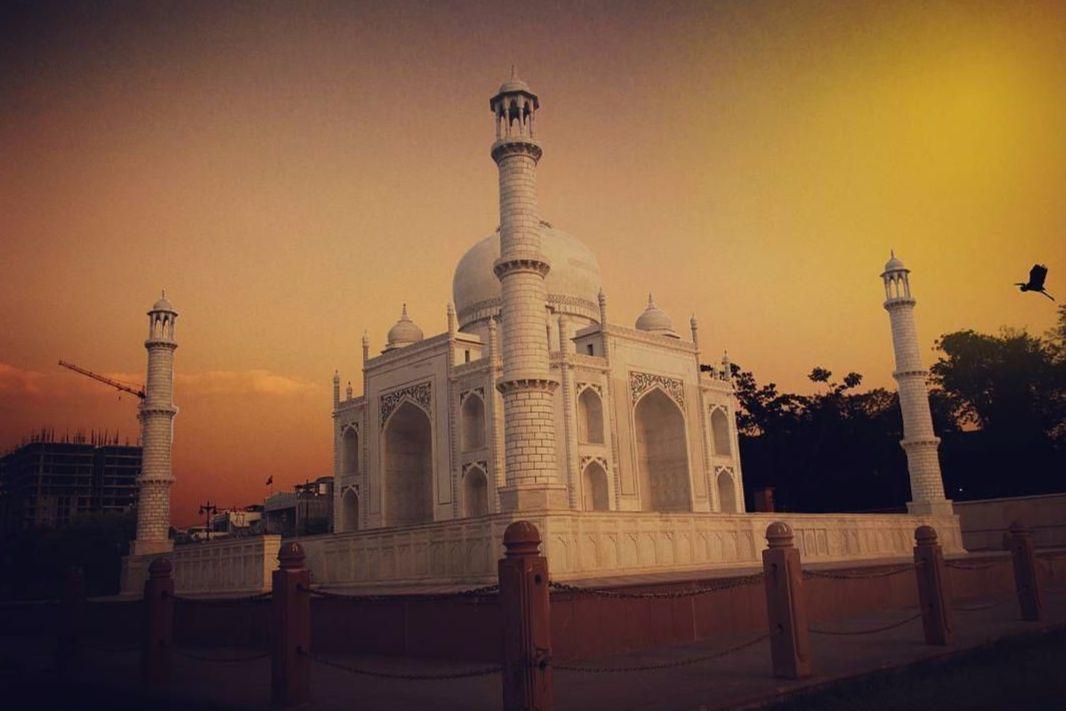 Taj Mahal Seven Wonders Park, Kota