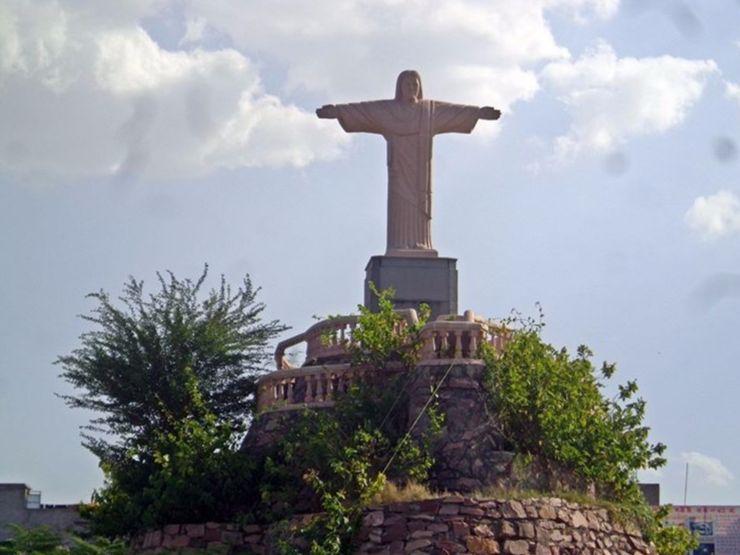 Brazil's Christ the Redeemer Seven Wonders Park, Kota