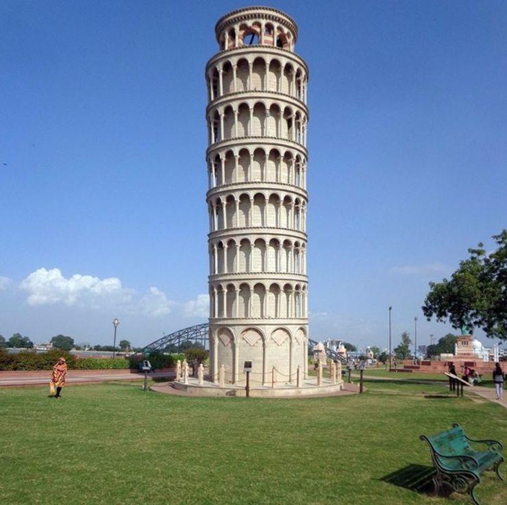 Leaning Tower of Pisa Seven Wonders Park, Kota
