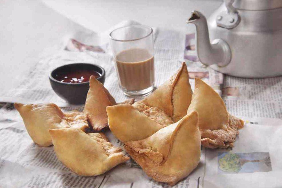 Samosa Chai tea time snack