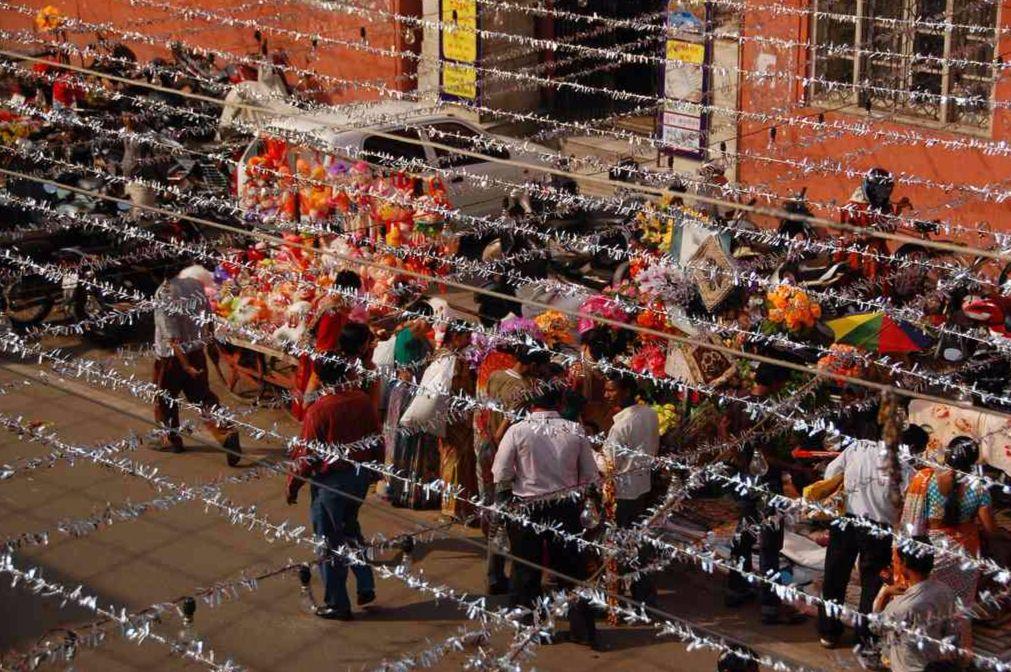 diwali decoration jaipur market