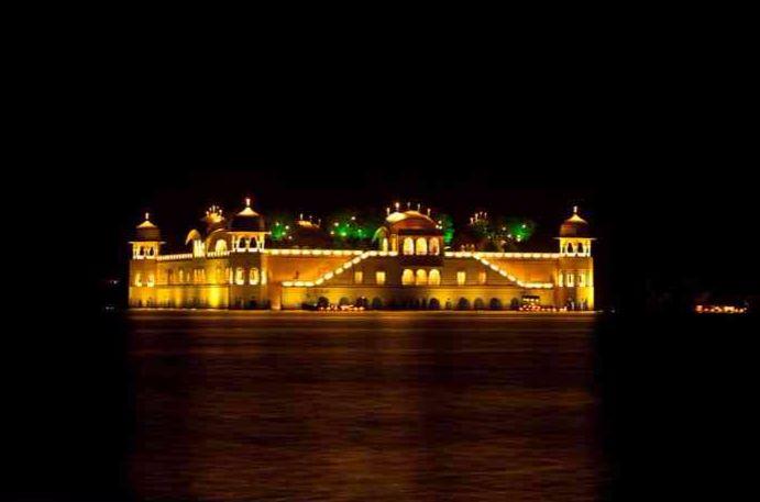 Jal Mahal diwali
