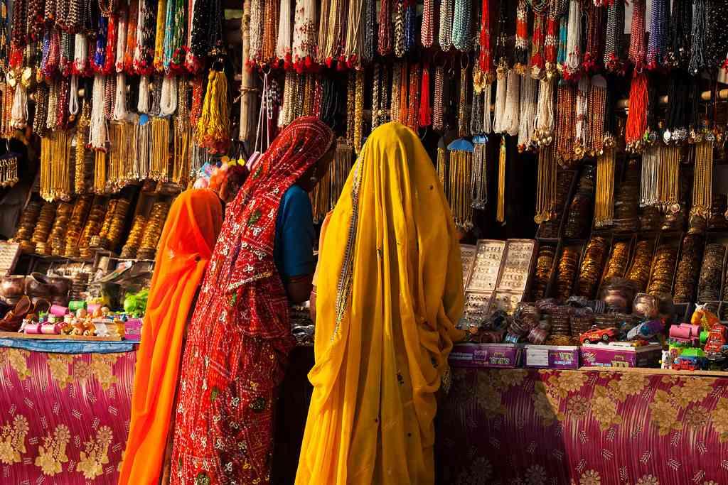 Shopping Market in Rajasthan
