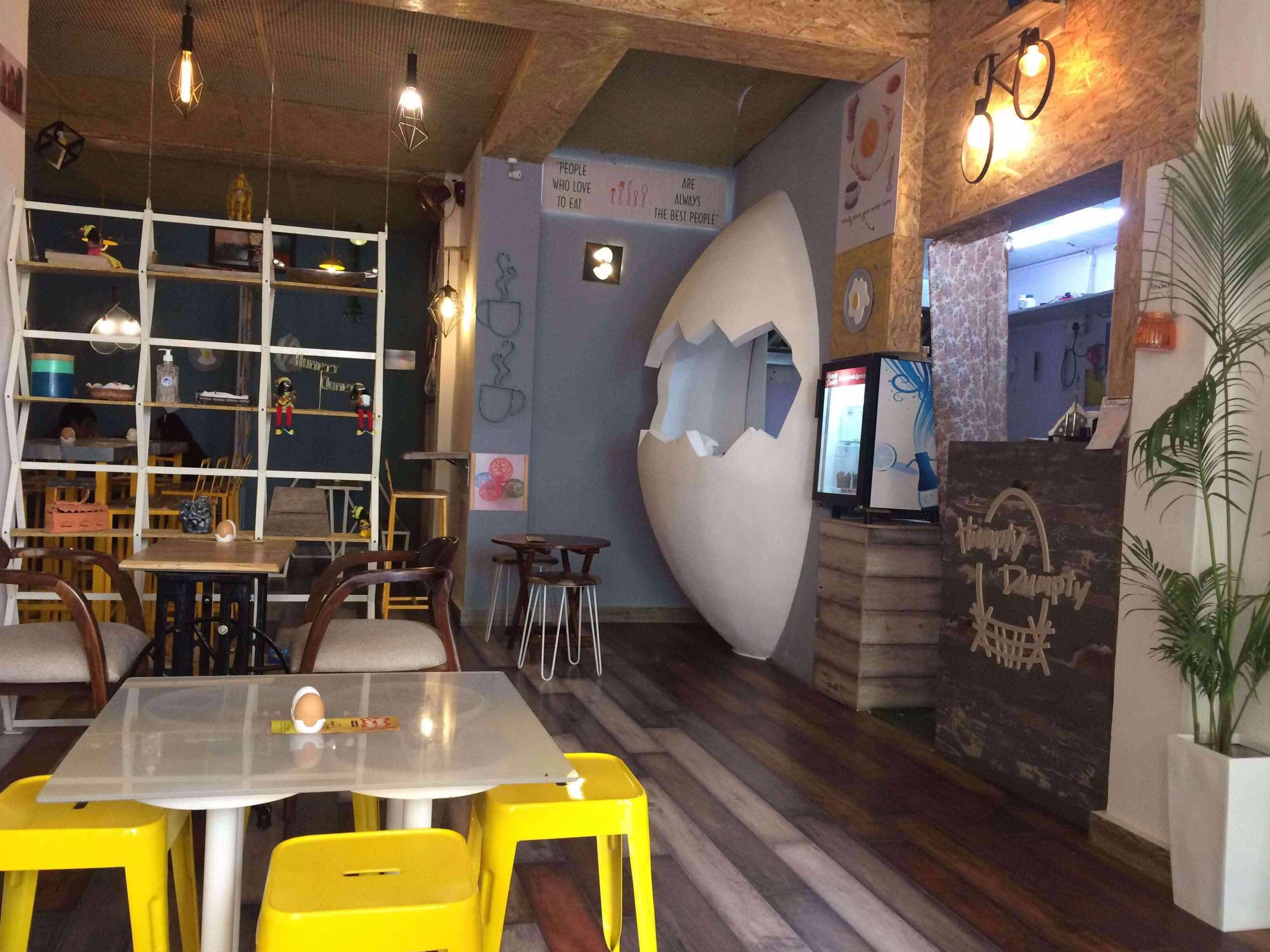 Humpty Dumpty Egg Cafe Jaipur