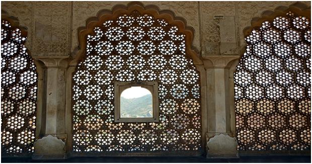 Fretwork Amer Fort jaipur