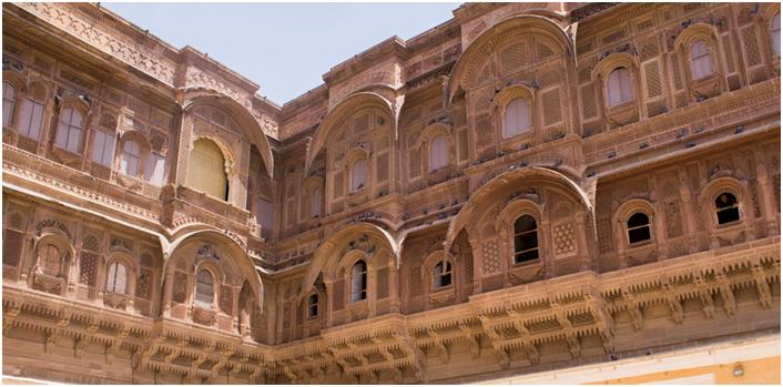 Fretwork Mehrangarh fort Jodhpur