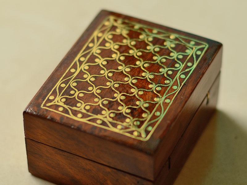 Tarkashi Wooden box