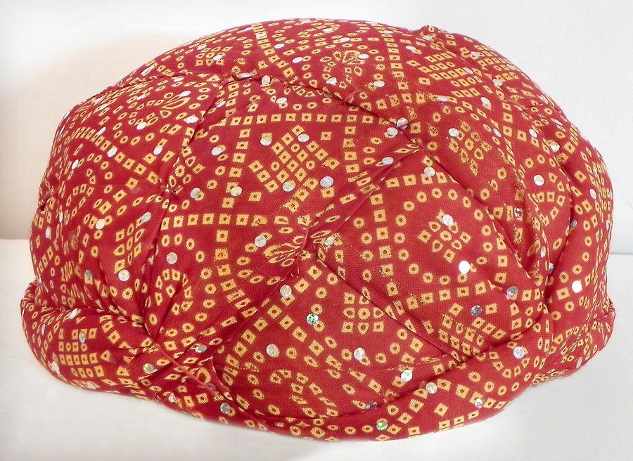 bandhej turban