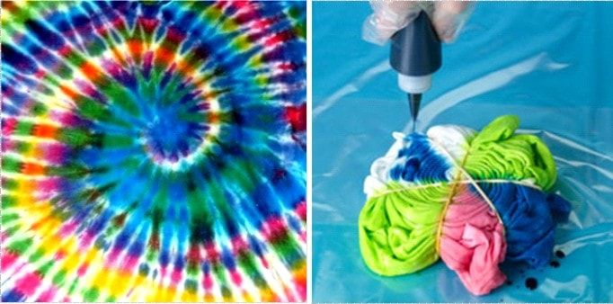 Modern Tie and Dye