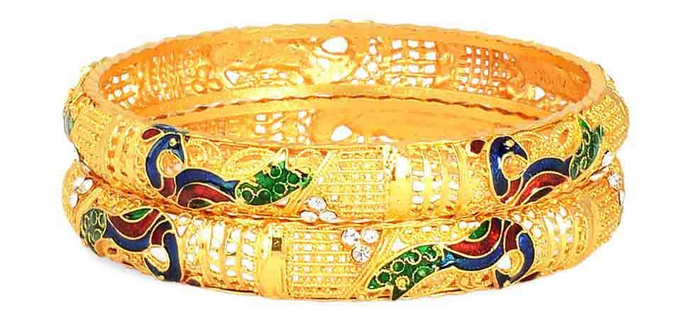 traditional Meenakari bangles