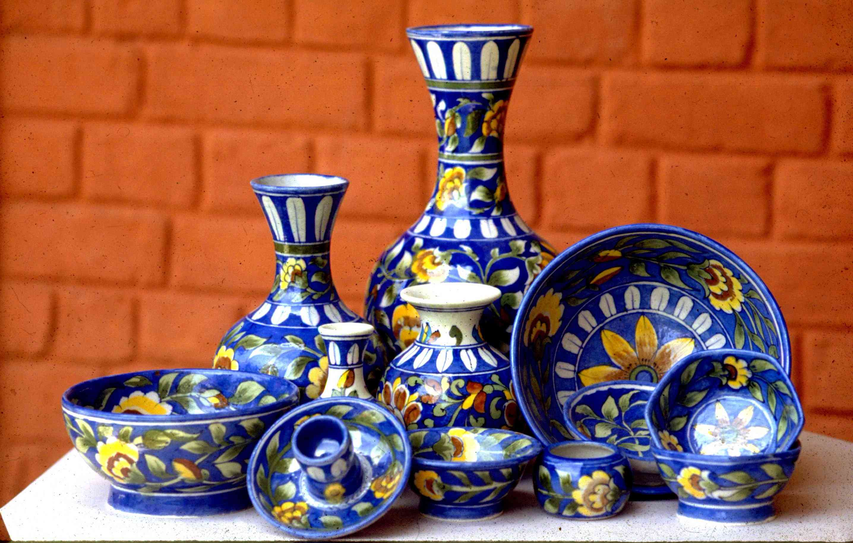 Blue Pottery of Rajasthan