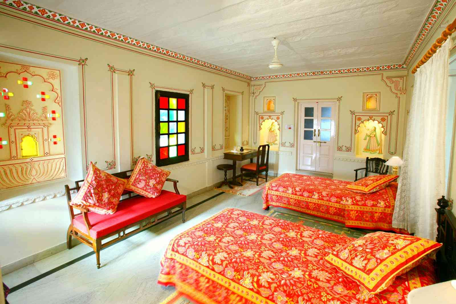 Rajasthani style interior decoration ideas to furnish your home for Interior designs for bedrooms indian style